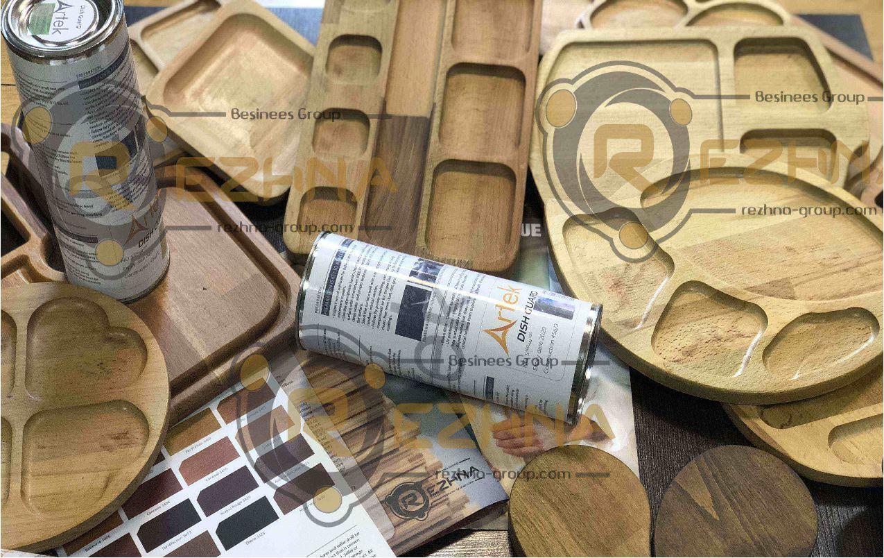 رنگ بهداشتی ظروف چوبی